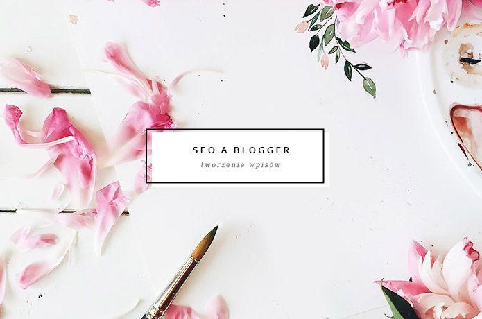 seo a blo na platformie Blogger