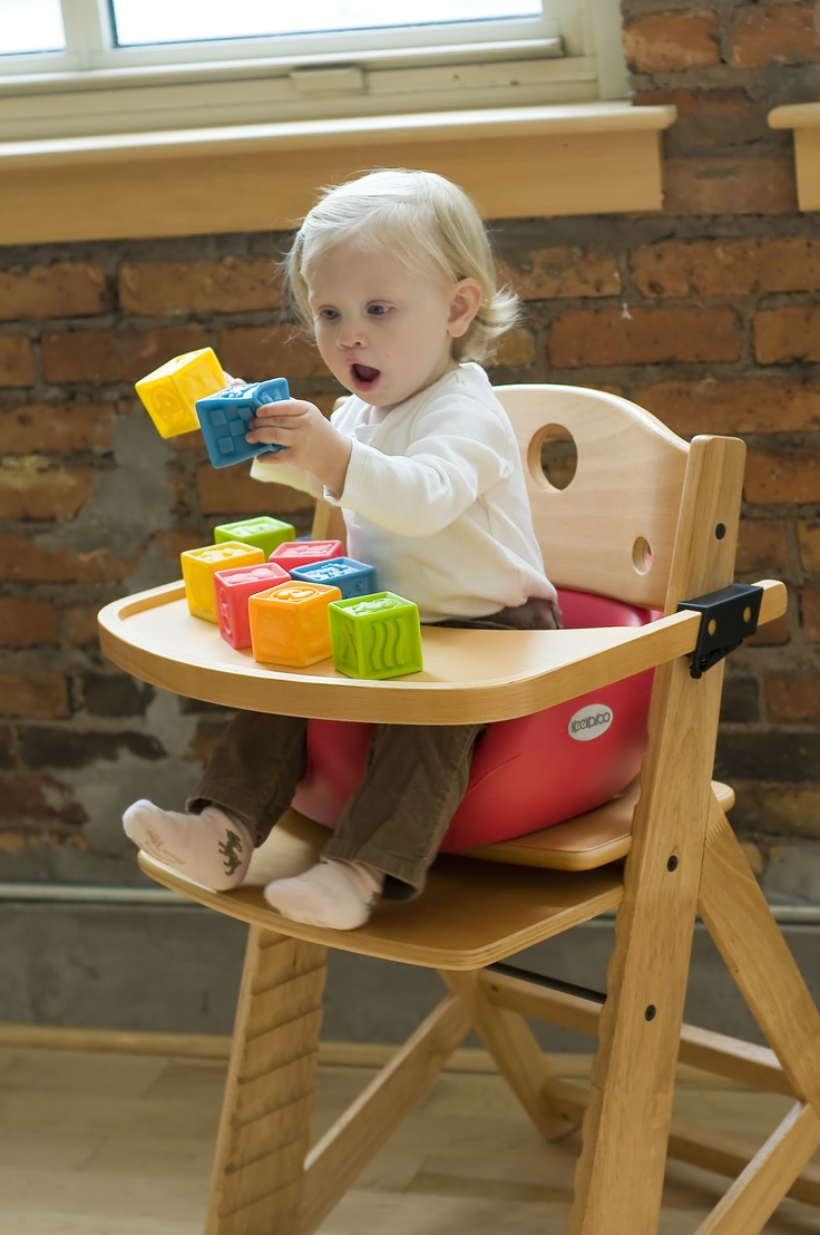 Baby chairs for infants - Keekaroo High Chair With Cherry Infant Insert Tray 189 95