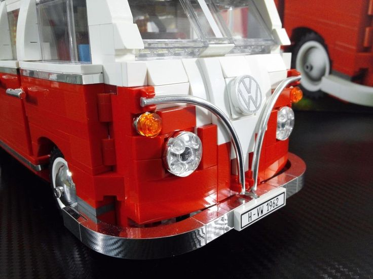 100% New custom chrome LEGO #10220 Volkswagen T1 Camper. Set 10220 is not included. 100% chrome using original LEGO parts(123pcs)   2 Bonus part. | eBay!