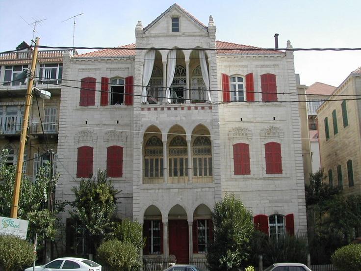 Zahle lebanon home architecture zahle lebanon for Home node b architecture