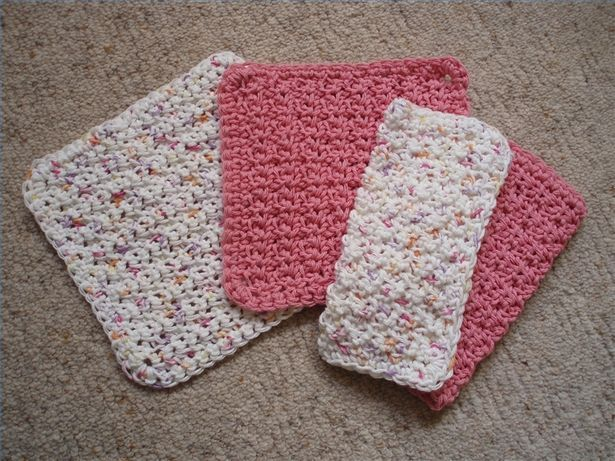 Quick And Easy Beginner Crochet Patterns : 1000+ ideas about Crochet Dishcloth Patterns on Pinterest ...