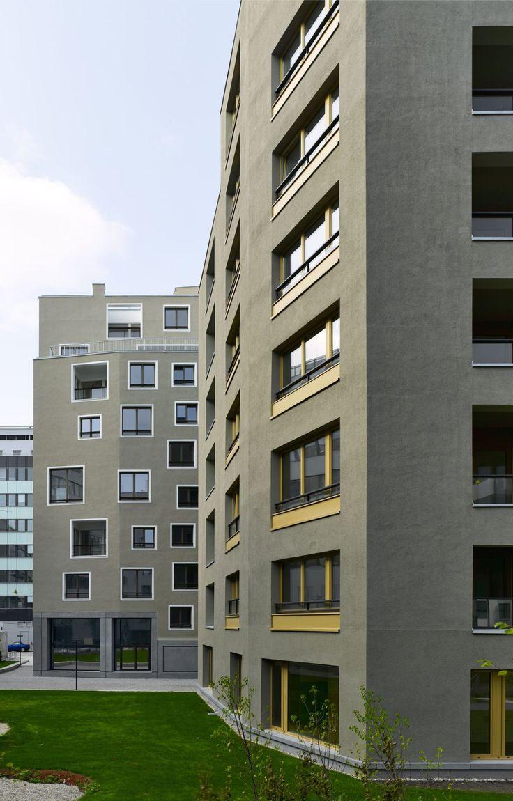 Sergison Bates Nordbahnhof housing . Vienna