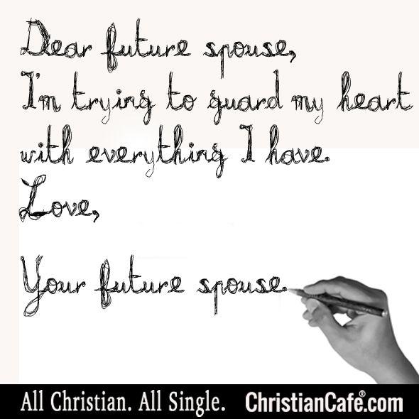 romantic letter to future husband