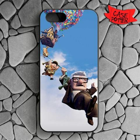 Disney Pixar Up iPhone SE Black Case