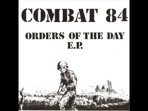 """1st COMBAT 84 - 7"""" Orders of the day - ep"""
