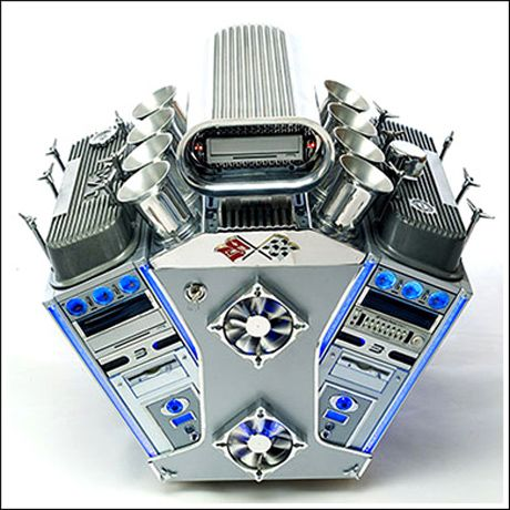 Amazing Pictures of Cool Customized Computer Mods