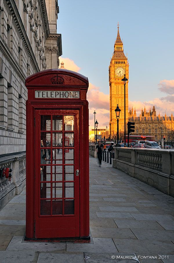 Big Ben in Whitehall, London_ England
