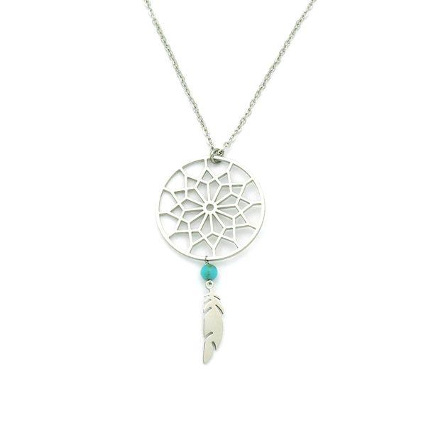 ZAG Bijoux Multicoloured stone necklace ncQvq