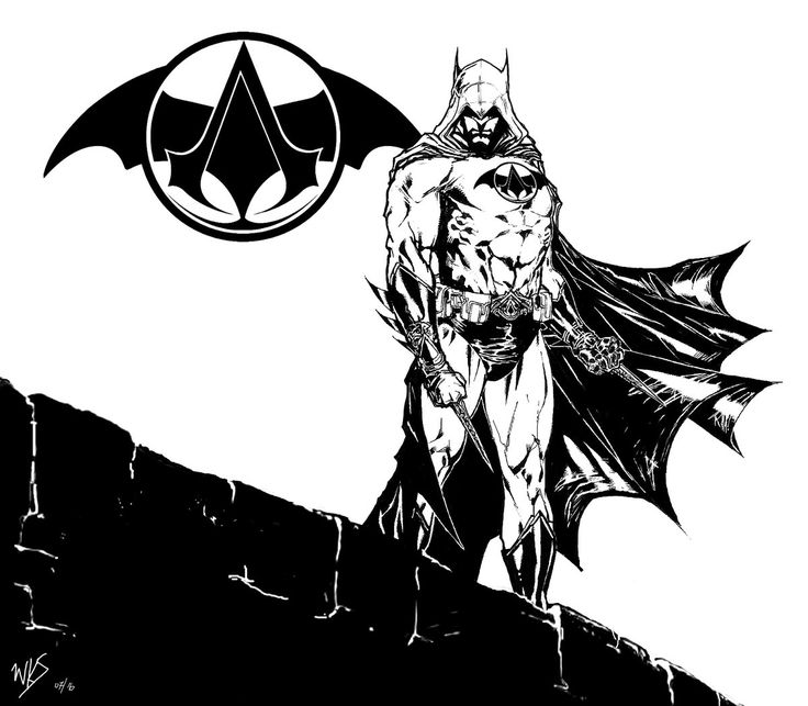 @MrSmithMachine - Assassin's Creed Batman