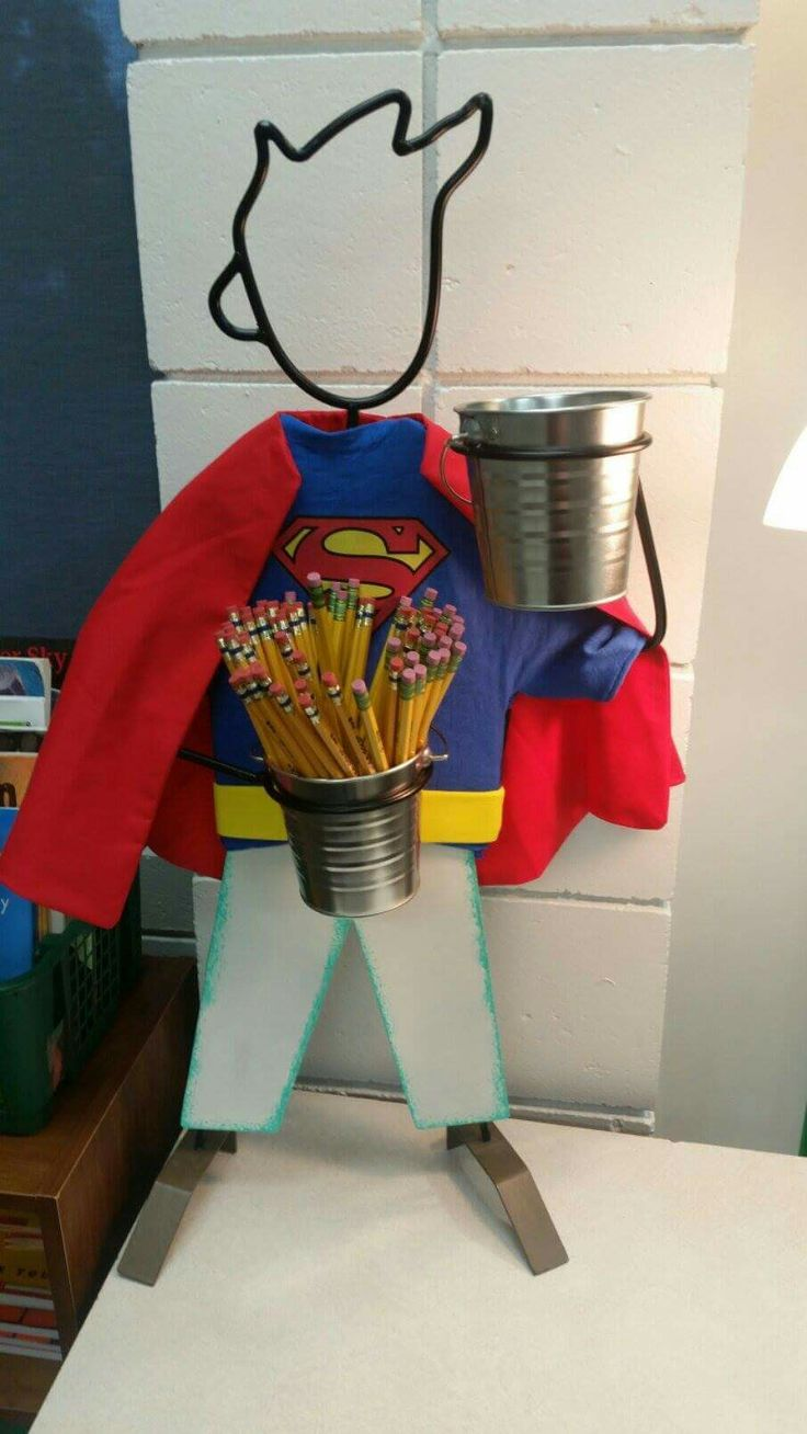 Classroom Decoration Ideas For Grade 2 ~ Best images about school classroom theme superheroes