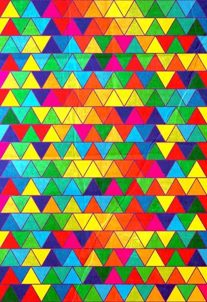 Technicoloured Dreams Art Print