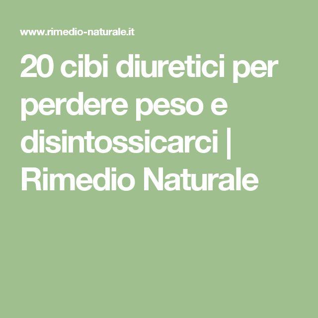 20 cibi diuretici per perdere peso e disintossicarci | Rimedio Naturale