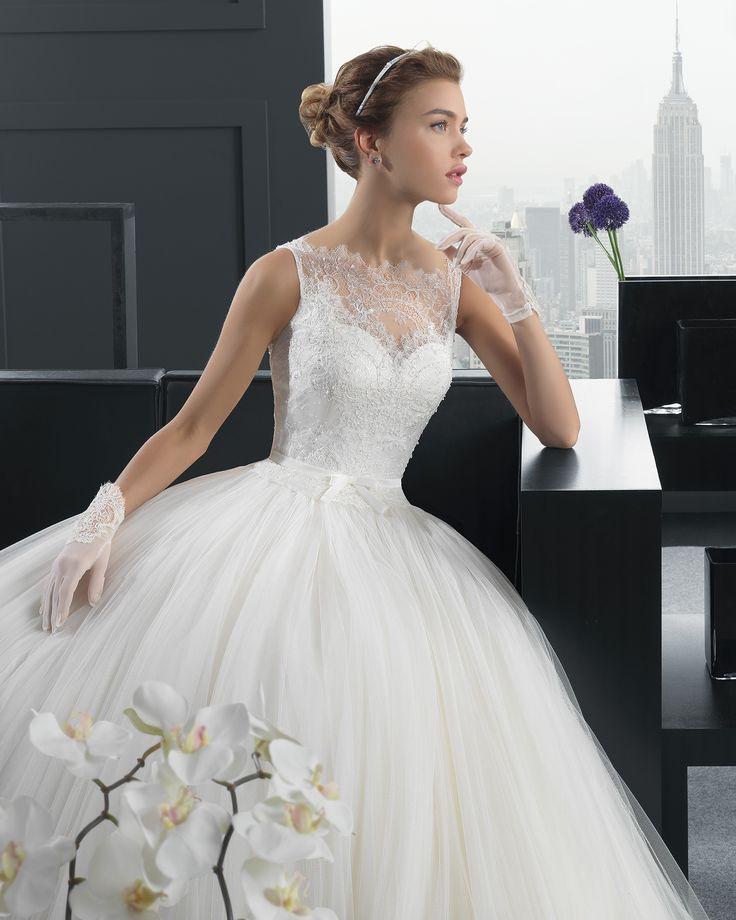 162 mejores imágenes de Vestidos Novia en Pinterest | Vestidos de ...