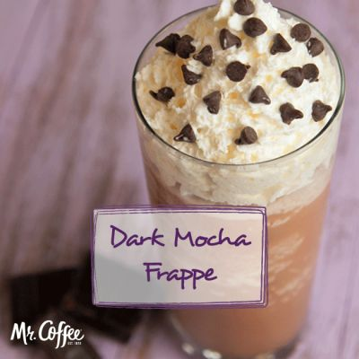 If you ask us, it's always the season for a frappe.   Celebrate #NationalDarkChocolateDay with our Dark Chocolate Frappe recipe!   http://www.mrcoffee.com/service-and-support/recipes/cafe-frappe-recipes/cafe-frappe-recipes.html?recipe=dark-chocolate-mocha-frappe&utm_source=pinterest&utm_medium=recipe&utm_content=recipe-dark%20chocolate%20mocha%20frappe