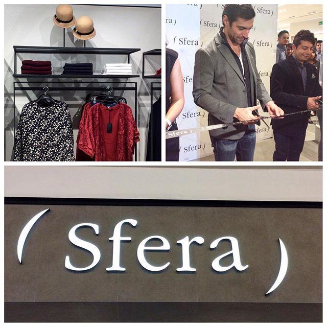 El actor @osvaldodeleonof encargado de cortar el listón de la nueva tienda @sfera_moda en #cosmopol #sfera #moda #sferamoda #México #estilo #estilodevida #fashion #fashionable #instafashion #instalike #accesorios #shishang_zazhi #SZReport #estadodemexico