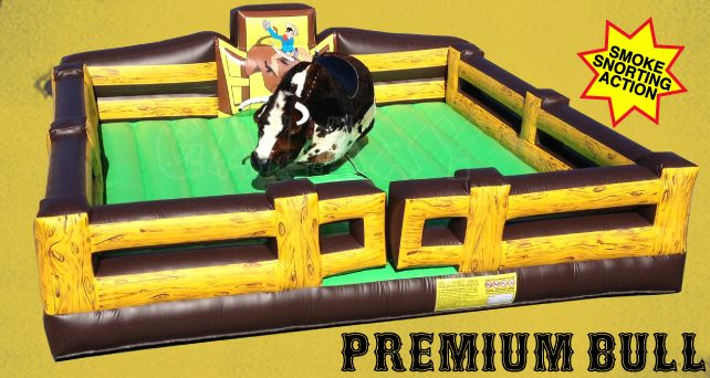 The best just got better!!!  The Premium Mechanical Rodeo Bull is our latest model and the most advanced yet! http://www.therodeobullcompany.com/Premium-Mechanical-Bull.html
