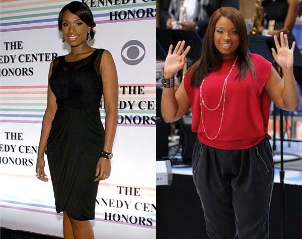 Remember Jennifer Hudson when she was Carrie Bradshaw's assistant in the Sex and the City movie? We can't get over how different Jennifer looks now. She lots around 80 lbs following the Weight Watchers program and is now a spokesperson for the brand.