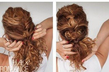17 Incredibly Pretty Styles For Naturally Curly Hair | I never knew how much I needed this