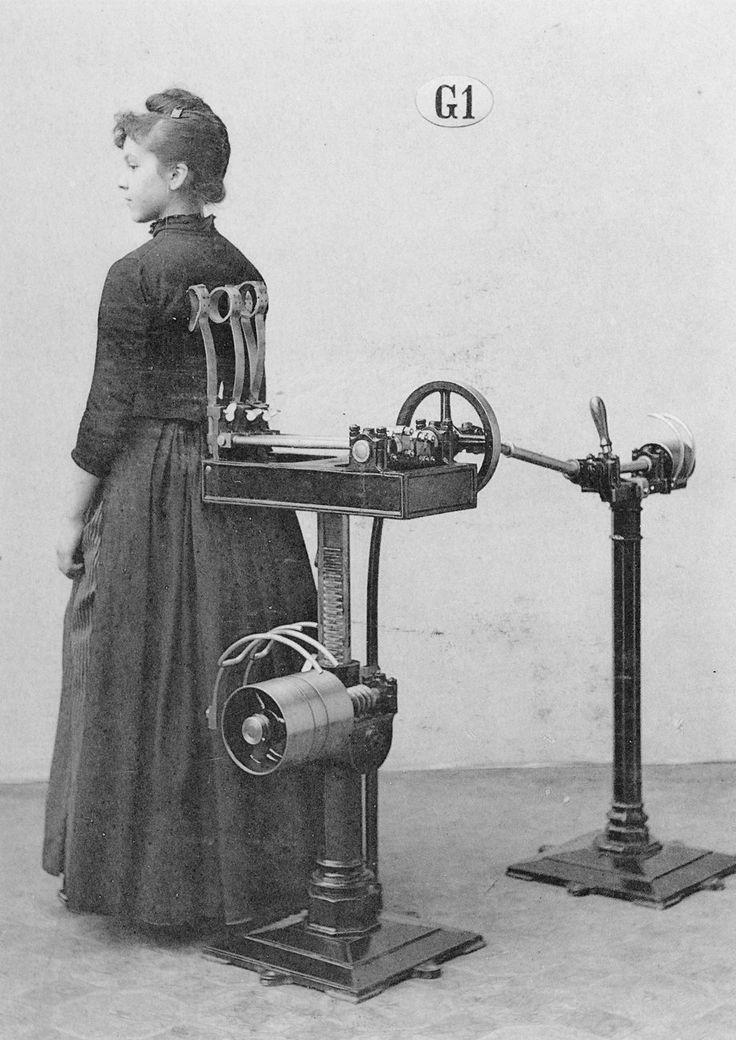 Zanders medico-mechanical gymnastics equipment  //  I wonder what this was for?