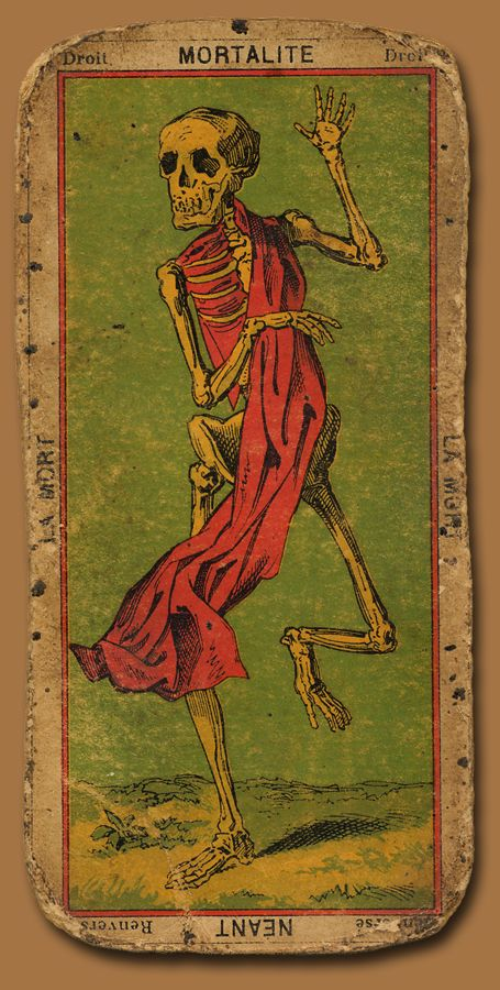 Death Tarot - does not need be a bad card just end of one thing  & beginning of new.