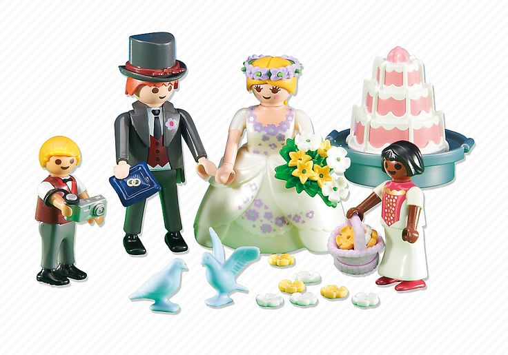 Mariés avec enfants d'honneur - 6459 - PLAYMOBIL® France