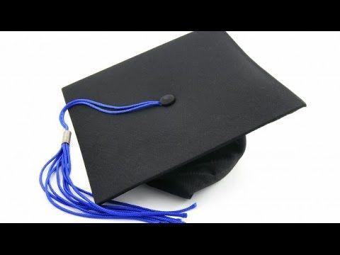 cómo hacer un birrete de graduación (www.racoinfantil.com) - YouTube