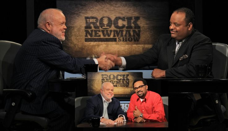 Roland Martin & Mike Epps on The Rock Newman Show