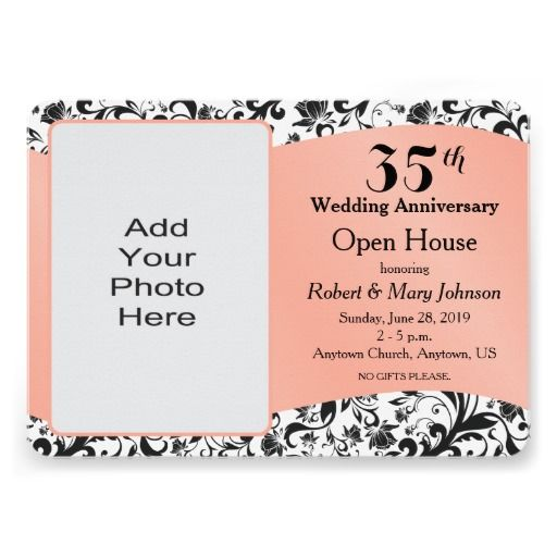 35th wedding anniversary invitation card 28 images handmade