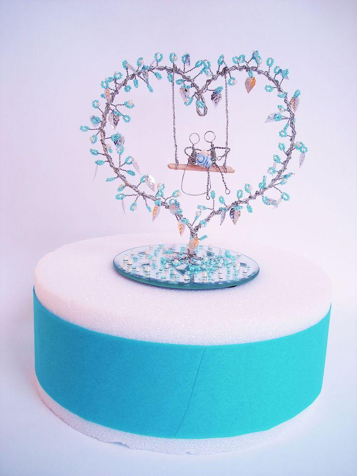 Custom Made Wedding Cake Topper.