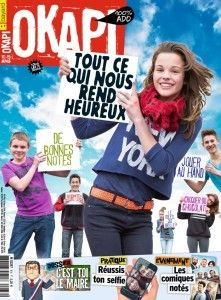 Dossier : « 24 heures dans la vie d'un maire ».  Décodage : « Un concentré de poisons »: la cigarette ! Enquête : « Qu'est-ce qui te rend heureux ? » C'est pratique : « Réussis ton selfie ».  Test : « Quel voyage dans le temps ferais-tu ? » La BD à suivre: Les orangers de Versailles