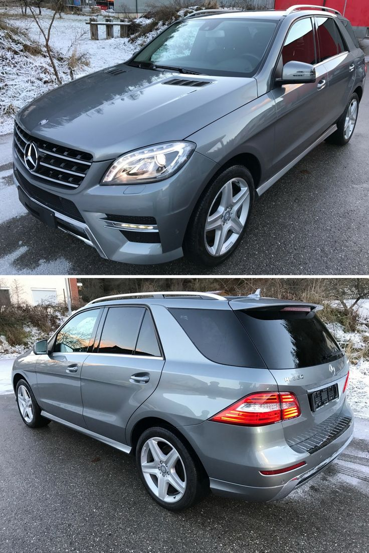 Mercedes ml350 bluetec amg 2014 gray rent suv luxury