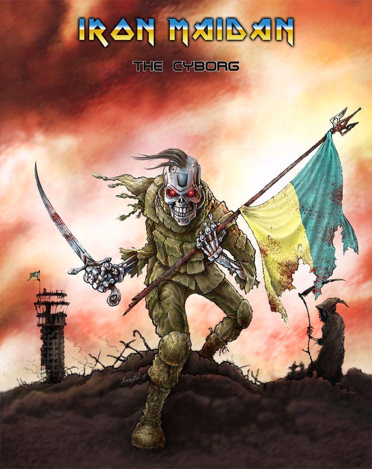 Ukrainian 'Cyborg' by 9th-max