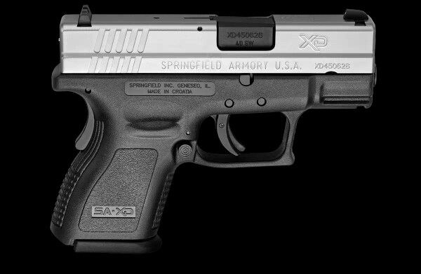 Springfield XD9 Subcompact.