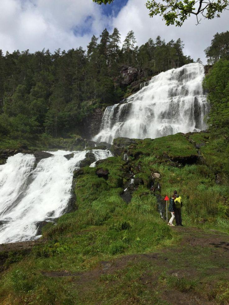 Svandalsfossen Falls - Sauda, Norway