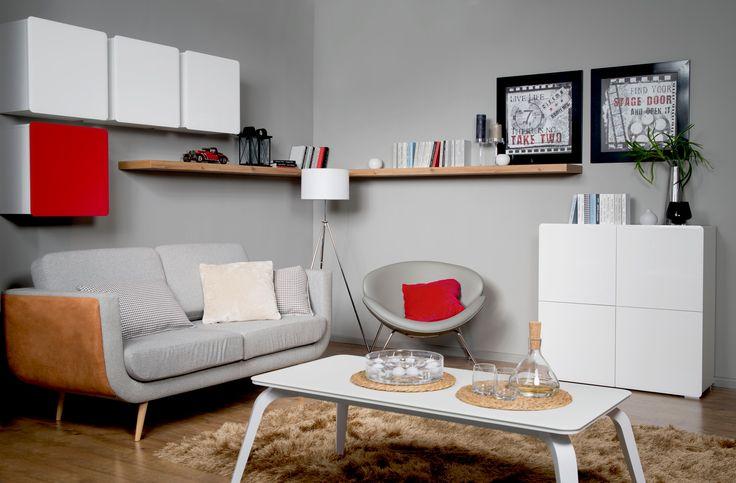Nowa kolekcja Black Red White #PossiLight #nowosc #nowakolekcja #meble #blackredwhite #moduly #salon #livingroom #kolory #bilionmozliwosci #design #furniture #newcollection #home #dom #interior #wnetrza #inspiration