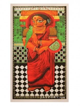 Bengal Printed Artwork on Canvas