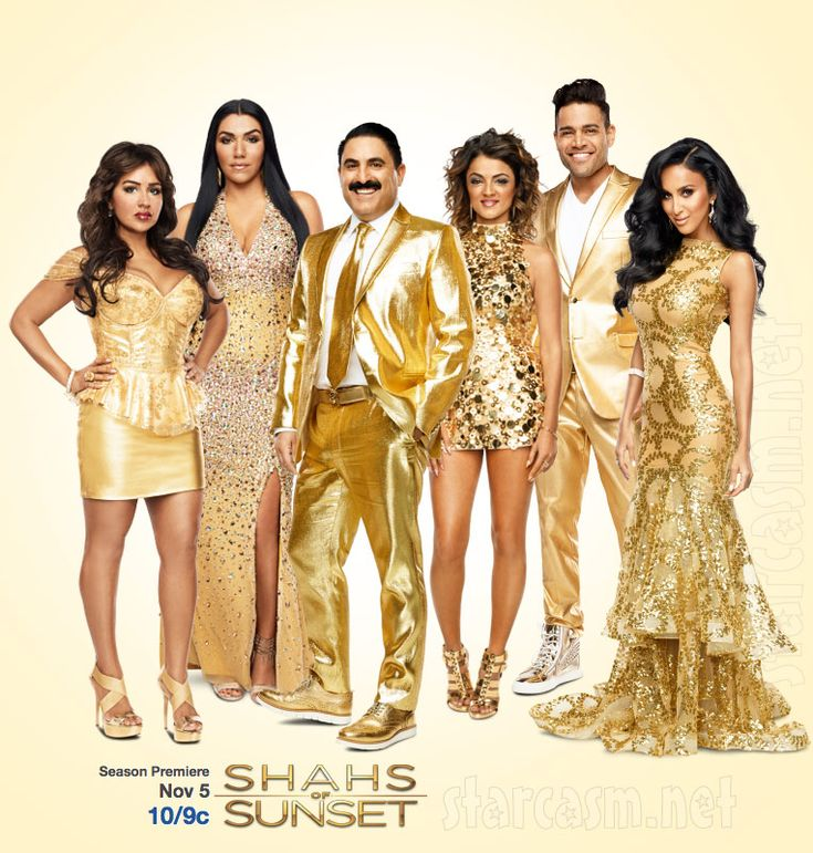 Shahs of Sunset. #Golden by #Bravo