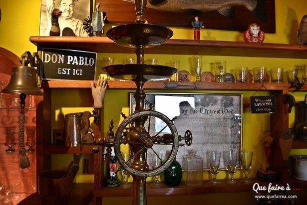 Bar de Pablo Neruda à la Sebastiana, sa maison à Valparaiso - Chile
