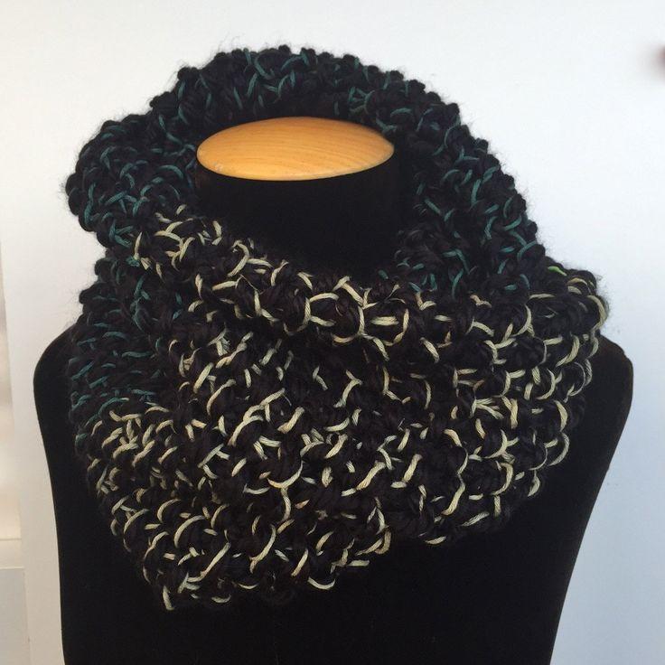 Coll buff/ Bufanda cuello corto/ Short scarf de TOCShandmade en Etsy