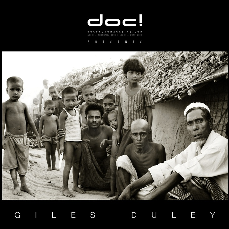 "doc! photo magazine presents: ""Kutupalong"" by Giles Duley, #8, pp. 9-31"