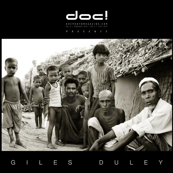"""doc! photo magazine presents: """"Kutupalong"""" by Giles Duley, #8, pp. 9-31"""