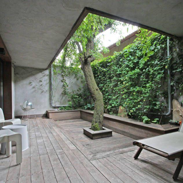 As 25 melhores ideias de dise o de jardines interiores no for Diseno de patios interiores