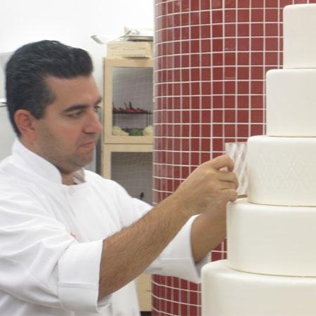 TLC's Cake Boss Buddy Valastro creates wedding cake for Mario Lopez