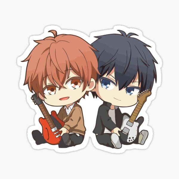 Mafuyu X Uenoyama Anime Printables Anime Stickers Cute Stickers