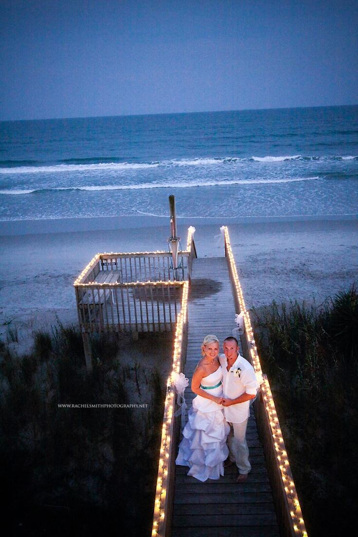 Surf City Nc South Topsail Beach Destination Wedding Http