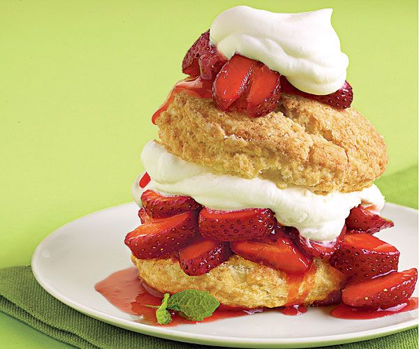 Classic Strawberry Shortcake from Fine Cooking.  Fine Cooking has definitely brought out the cook in me! [Bake these frequently! Even just make the biscuits to eat with jam. Delish!]