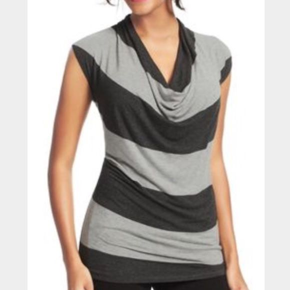 CAbi stripe shirt Like new condition. Worn once CAbi Tops Tees - Short Sleeve