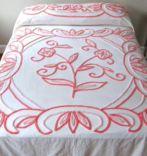 White Twin Bedding With Rainbow Tassels