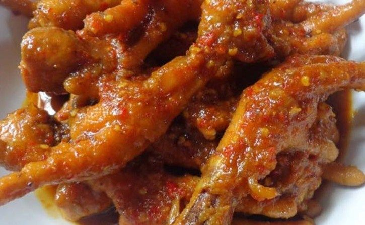 Resep Ceker Ayam Asam Manis Enak Banget Resep Cara Memasak Ayam