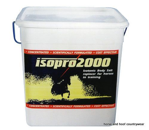 Thoroughbred Remedies Isopro 2000 Powder Electrolyte A concentrated scientifically formulated and cost-effective electrolyte supplement for daily use.